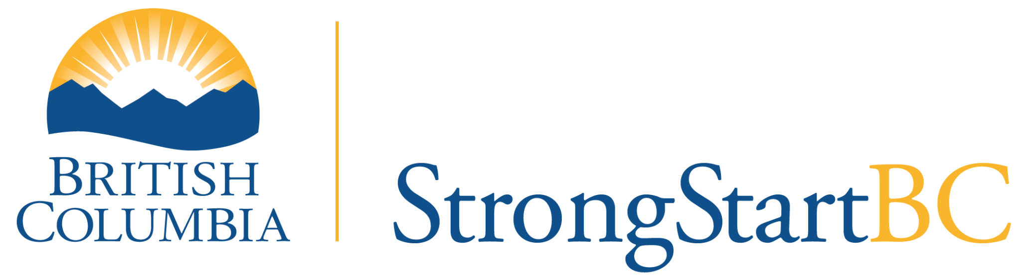 StrongStartBC updated logo